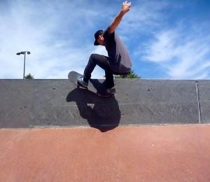 skateboarding in boulder